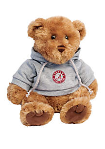 Alabama Crimson Tide 10 in Traditional Teddy Bear with Hoodie