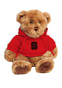 NC State Wolfpack 10 in Traditional Teddy Bear with Hoodie