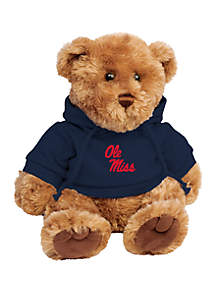 Ole Miss Rebels 10 in Traditional Teddy Bear with Hoodie