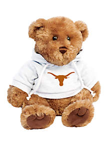 Texas Longhorns 10 in Traditional Teddy Bear with Hoodie