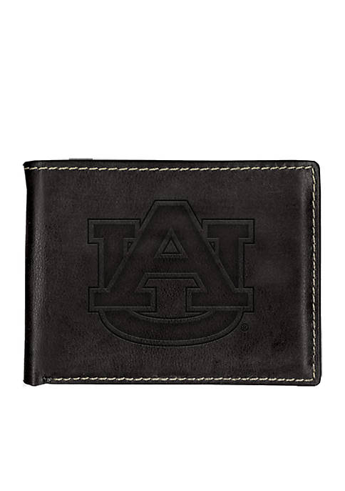 Auburn Tigers Contrast Stitch Bifold Wallet