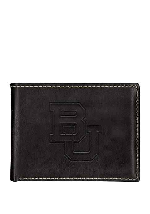 Baylor Bears Contrast Stitch Bifold Wallet