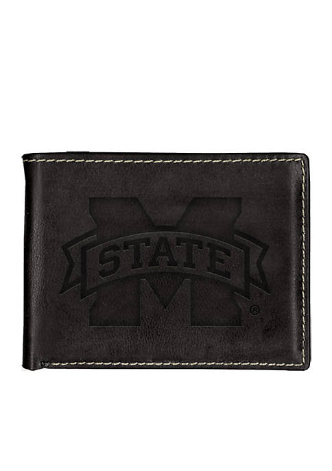 Mississippi State Bulldogs Contrast Stitch Bifold Wallet