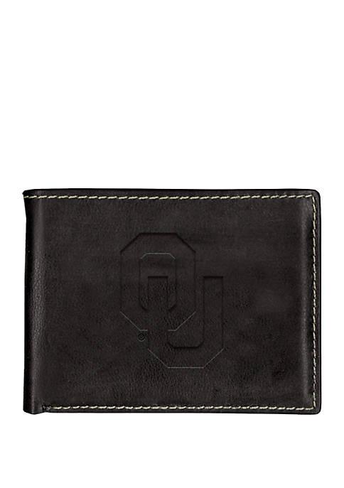 Oklahoma Sooners Contrast Stitch Bifold Wallet