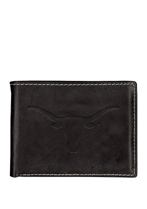 Texas Longhorns Contrast Stitch Bifold Wallet