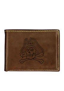 East Carolina Pirates Contrast Stitch Bifold Wallet