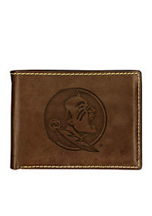 Florida State Seminoles Contrast Stitch Bifold Wallet