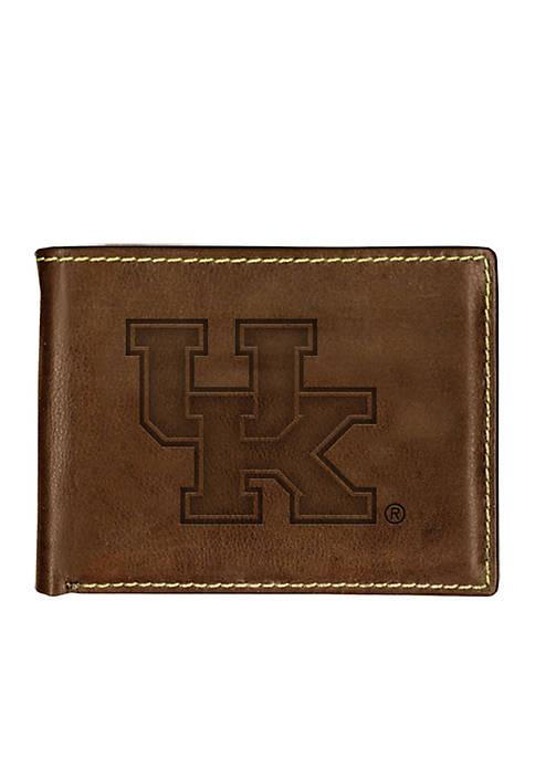 Kentucky Wildcats Contrast Stitch Bifold Wallet