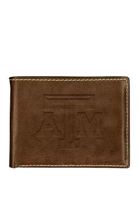 Texas A&M Aggies Contrast Stitch Bifold Wallet