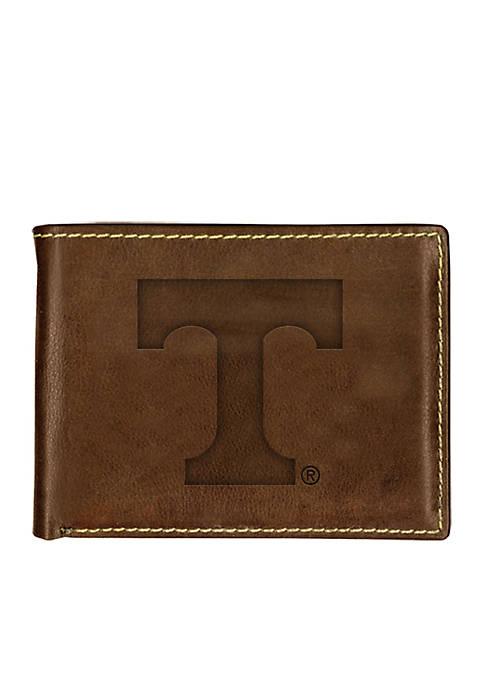 Tennessee Volunteers Brown Contrast Stitch Bifold Wallet