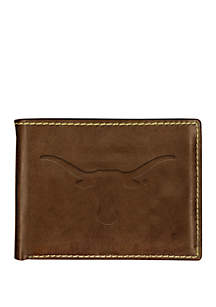 Texas Longhorns Contrast Stitch Bifold Wallet