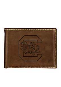 South Carolina Gamecocks Contrast Stitch Bifold Wallet
