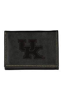 Kentucky Wildcats Contrast Stitch Trifold Wallet