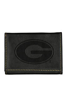 Georgia Bulldogs Contrast Stitch Trifold Wallet