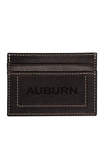 Auburn Tigers Westbridge Clip Cardholder