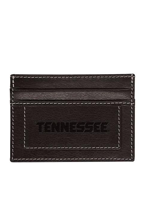 Tennessee Volunteers Black Westbridge Clip Cardholder