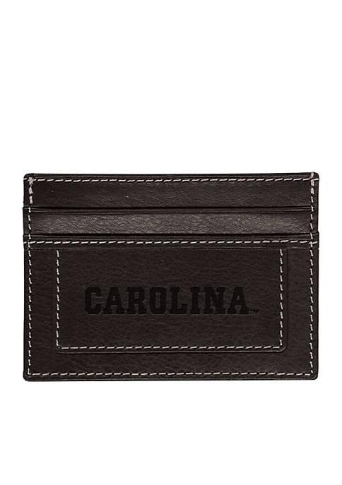 UNC Chapel Hill Black Westbridge Clip Cardholder