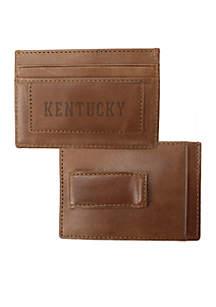 Kentucky Wildcats Westbridge Clip Cardholder