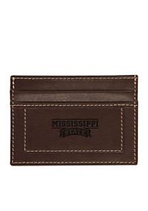 Mississippi State Bulldogs Westbridge Clip Cardholder