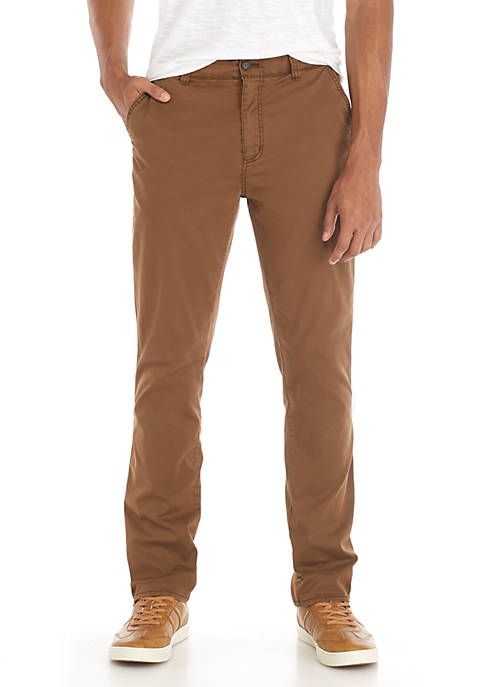 TRUE CRAFT Garment Dye Straights Chinos