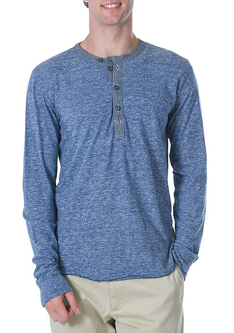 Grayers Todd Slub Henley Shirt