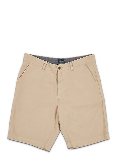 Grayers Cotton Linen Stretch Short