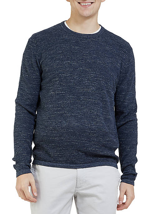 Grayers Multi Texture Crew Neck Shirt