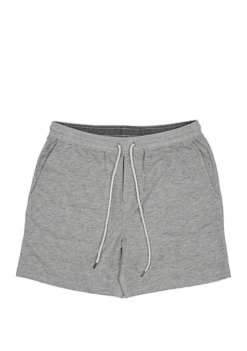Grayers Montague Terry Twill Gray Heather Shorts