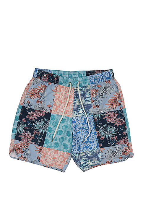 Grayers Patchwork Swim Shorts