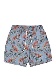 Grayers Blue Tropic Swim Shorts