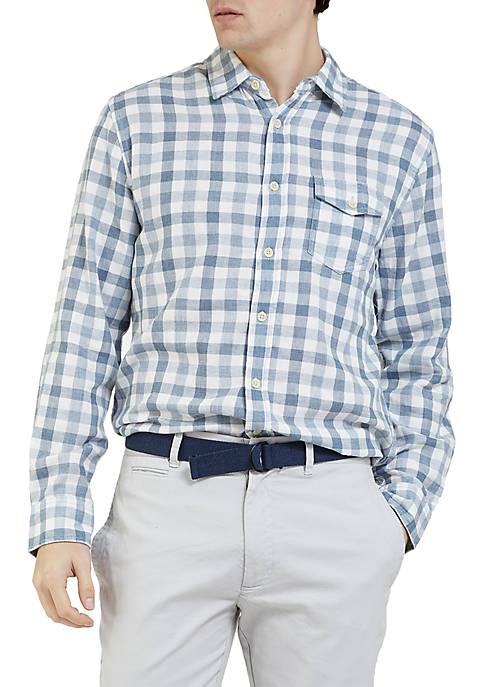 Grayers Long Sleeve Denby Double Cloth Shirt