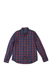 Trent Lightweight Slub Twill Shirt