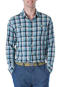 Trevor Lightweight Slub Twill Shirt