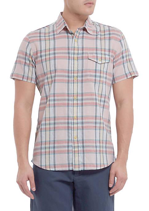 Grayers Short Sleeve Stanleys Classic Madras Shirt