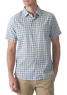Grayers Grange Shadow Gingham Short Sleeve Shirt