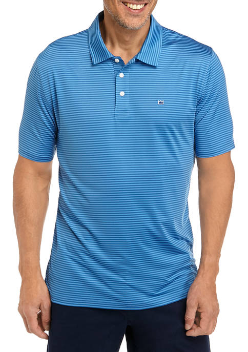 Crown & Ivy™ Mens Short Sleeve Performance Polo