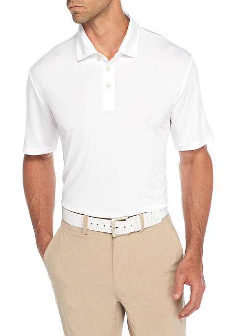Crown & Ivy™ Short Sleeve Motion Flex Golf