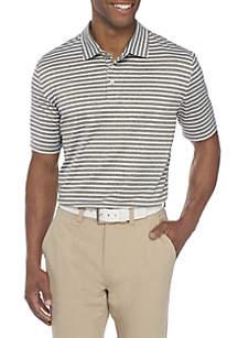 Golf Feeder Stripe Polo