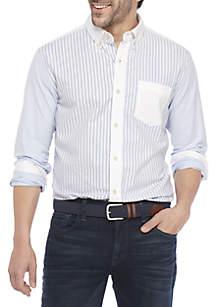 Oxford Colorblock Shirt