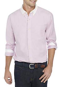 Colorblock Oxford Shirt