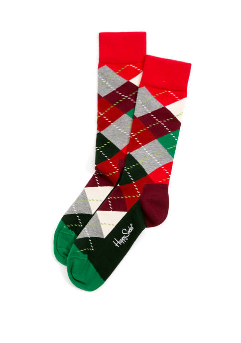 Happy Socks® Argyle Christmas Socks