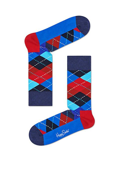 Happy Socks® Argyle Crew Socks