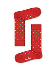 Christmas Dot Socks