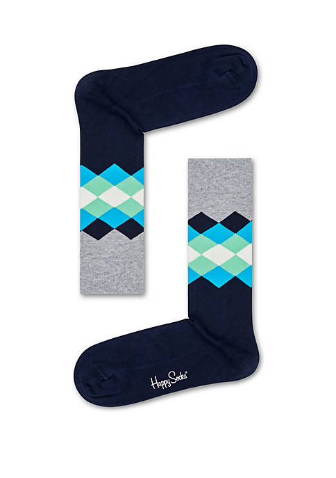Happy Socks® Faded Diamond Socks