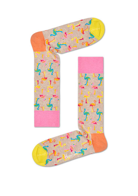 Happy Socks® Flamingo Crew Socks