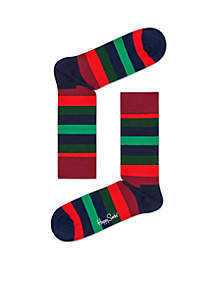 Christmas Stripe Socks