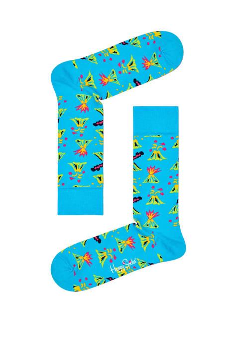 Happy Socks® Mens Volcano Crew Socks