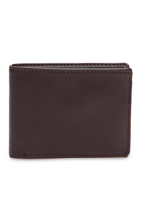 Exact Fit Slimfold RFID Wallet