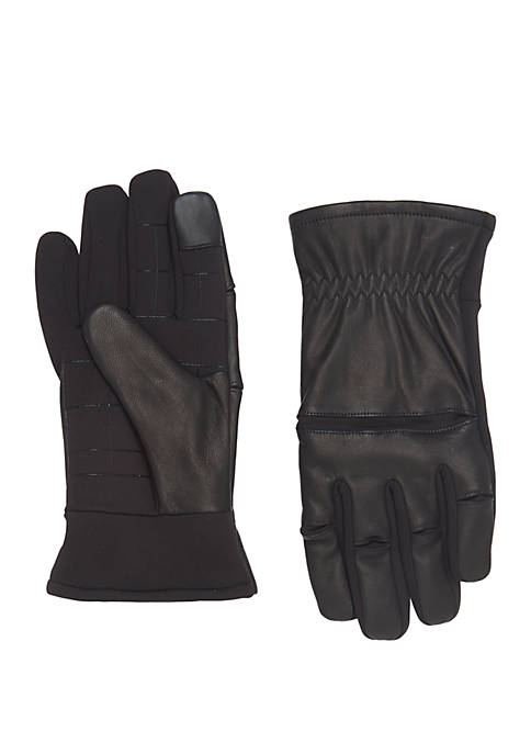Exact Fit Mixed Media Stretch Knuckle Gloves