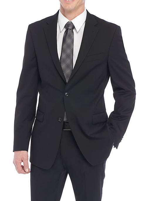 Flex Solid Suit Separate Coat